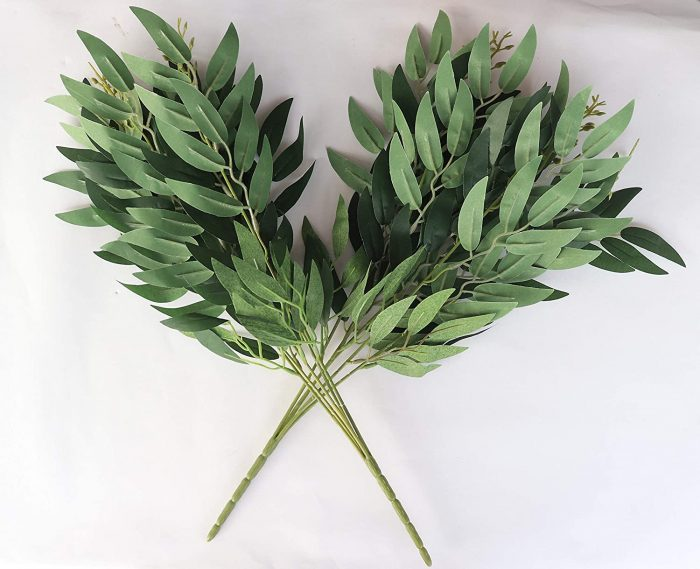 artificial willow leaf bunch
