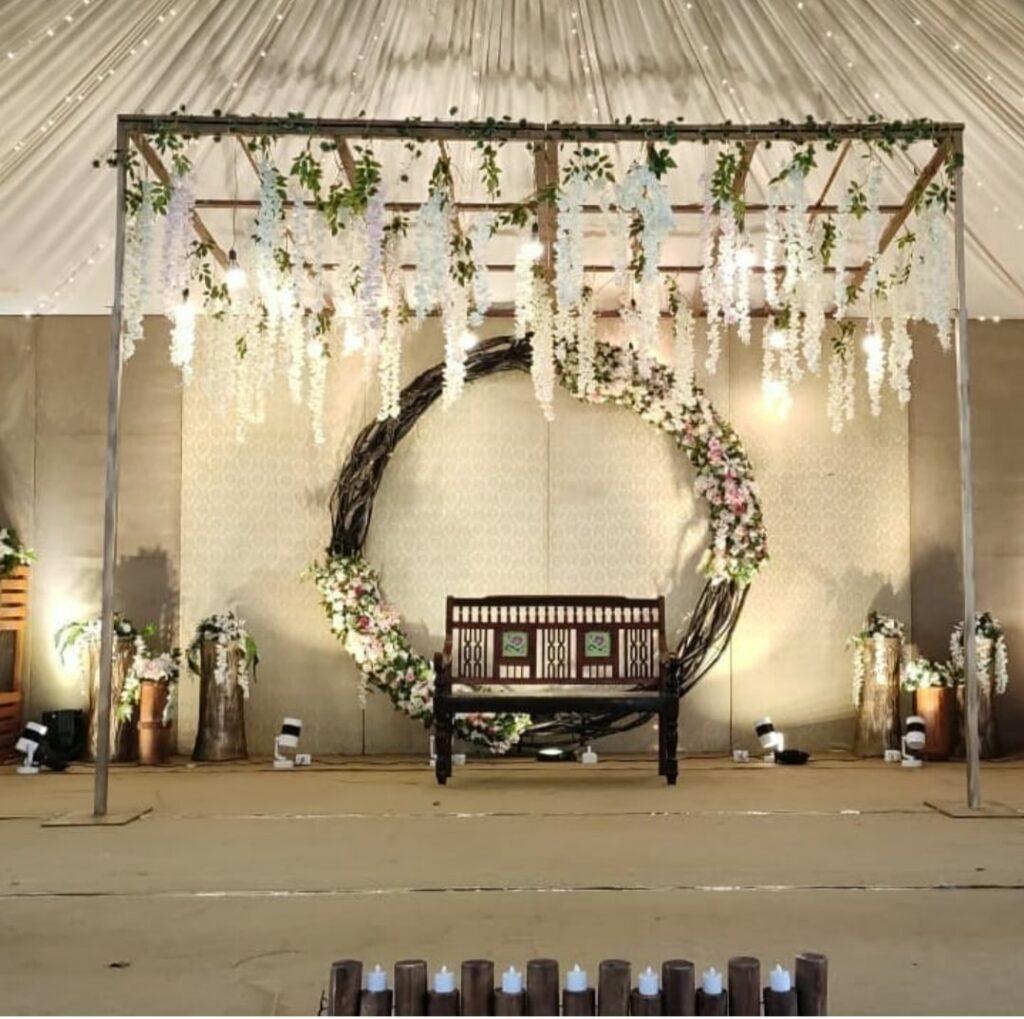Wedding Decoration with Backdrop