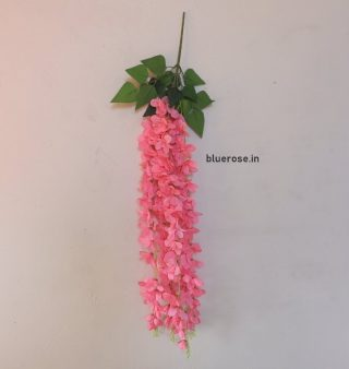 artificial hanging orchids dark pink color (1)