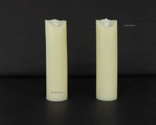led candle offwhite color (1)
