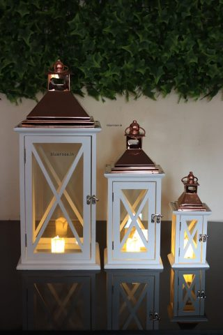 white wooden set of 3 for your wedding decorations (2)