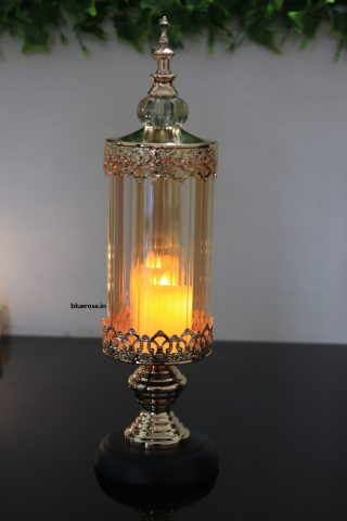 Candle stand gold color table decor (2)